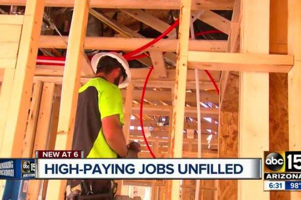 Thousands of high-paying Arizona jobs still vacant