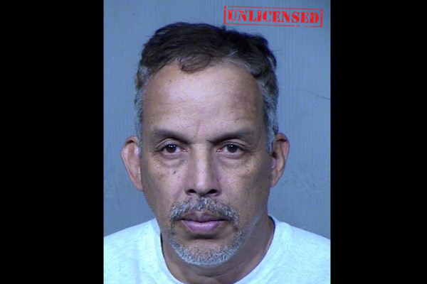 Booking Photo Courtesy of Maricopa County Jail