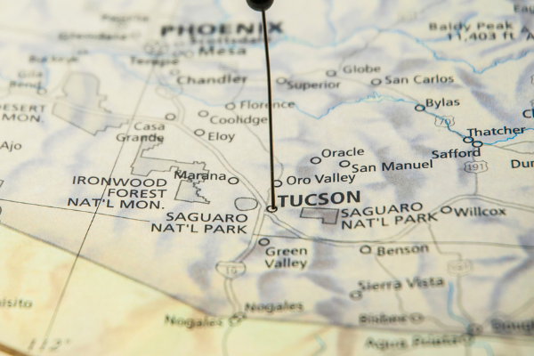 Arizona Map Photo