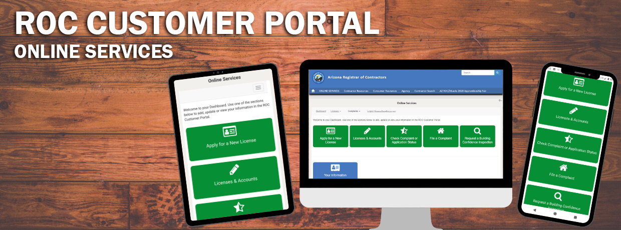 ROC Customer Portal